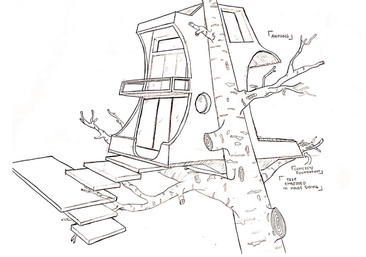Harrison- Modern Tree House