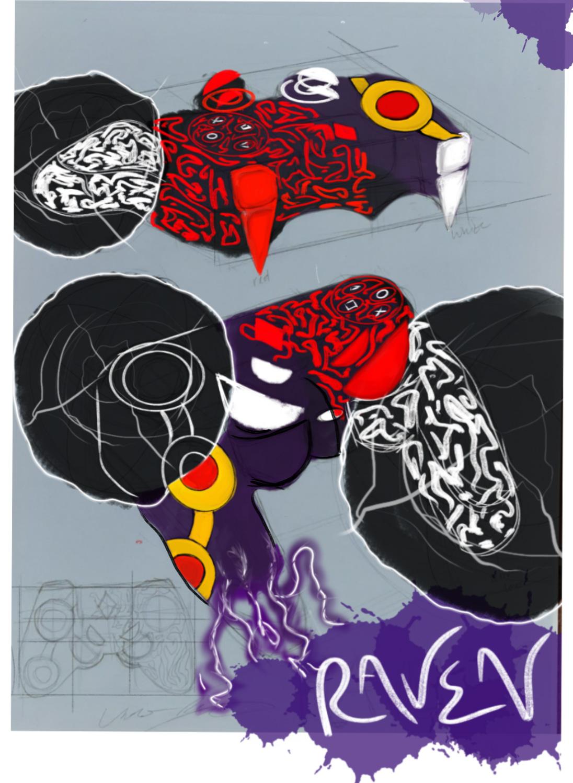Unique   Raven