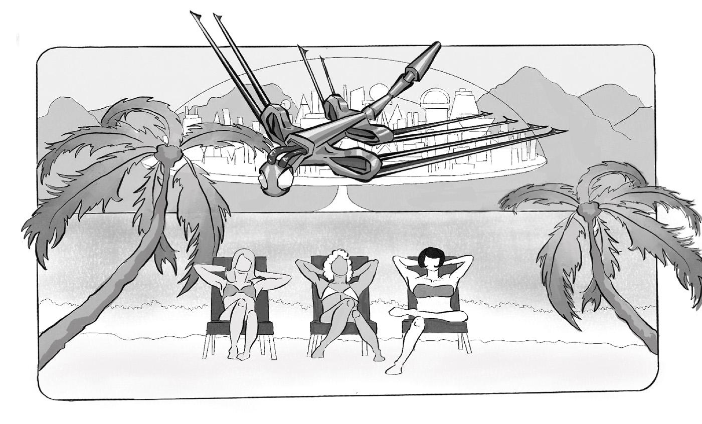 Lacie | Dragon Flying