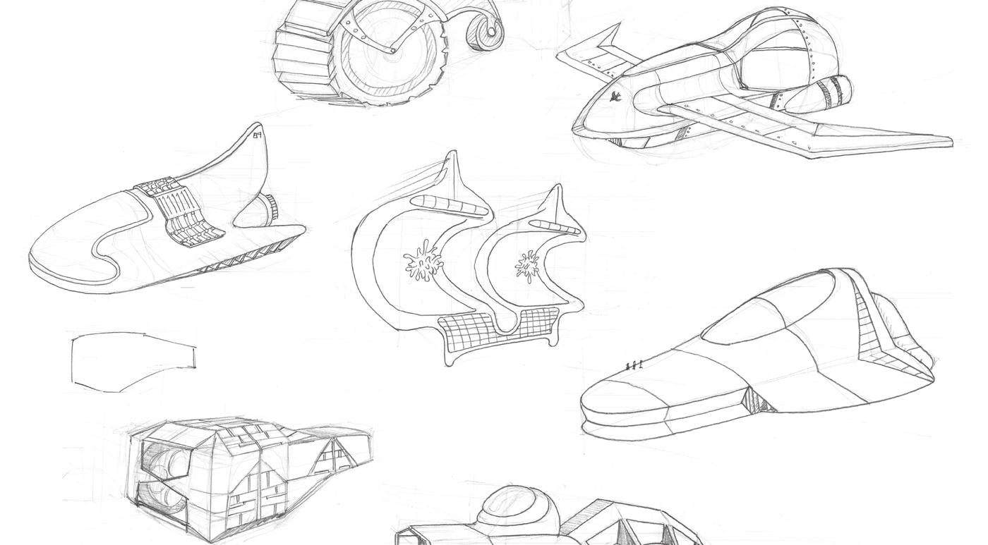 Arissa | Sci-fi Transportation Design
