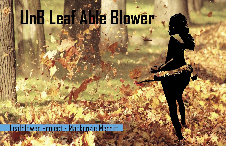 UnB Leaf Able Blower | Mackenzie